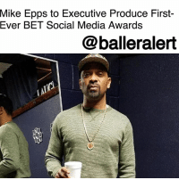 Memes, Mike Epps, and Social Media: Mike  Epps to Executive Produce First-  Ever BET Social Media Awards  @balleralert Mike Epps to Executive Produce First-Ever BET Social Media Awards – blogged by @MsJennyb ⠀⠀⠀⠀⠀⠀⠀ ⠀⠀⠀⠀⠀⠀⠀ A new awards show is coming to BET to celebrate the best and worst moments on social media. According to the Hollywood Reporter, the inaugural awards show will honor the biggest moments on social media from the memes to follows and more. ⠀⠀⠀⠀⠀⠀⠀ ⠀⠀⠀⠀⠀⠀⠀ Mike Epps has signed on to executive produce the first-ever BET Social Awards, which will air live Sunday, February 11th at 7 p.m. Epps will be working alongside Kyra Robinson in the production of the new awards. ⠀⠀⠀⠀⠀⠀⠀ ⠀⠀⠀⠀⠀⠀⠀ According to The Hollywood Reporter, the show is expected to feature social media stars, social media-inspired performances, comedic relief and other special moments. However, the categories and nominations will be announced at a later date.