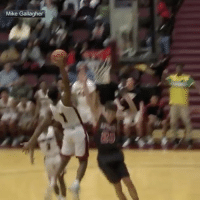 This high school kid jumped from outside the lane on his way to a poster 👀🔥 (Via @sportscenter) @worldstar WSHH: Mike Gallagher This high school kid jumped from outside the lane on his way to a poster 👀🔥 (Via @sportscenter) @worldstar WSHH