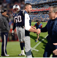 Patriotic, Running, and Belichick: Mike Vrabel went from playing under Belichick...to running it up on him 😶  Titans 34, Patriots 10