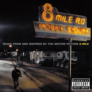 Explicitness: MILE RO  MUSIC FROM AND INSPIRED BY THE MOTION PICTURE 8 MILE  PARENTAL  ADVISORY  EXPLICIT CONTENT