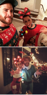 Miley Cyrus and Liam Hemsworth spending Christmas together is the cutest thing ever 😫❤️️: Miley Cyrus and Liam Hemsworth spending Christmas together is the cutest thing ever 😫❤️️