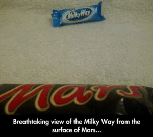 Tumblr, Blog, and Mars: Milky Way  Breathtaking view of the Milky Way from the  surface of Mars... awesomesthesia:  Breathtaking View
