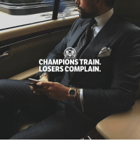 Memes, Train, and World: MILLIONAIRE MENTOR  CHAMPIONS TRAIN  LOSERS COMPLAIN. In a world where you can be anything, DON'T be a loser✔️ loser champion winner success millionairementor