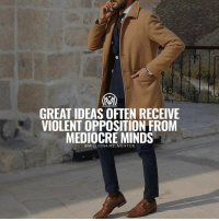"Bad, Best Friend, and Facts: MILLIONAIRE MENTOR  GREAT IDEAS VIOLENT OPPOSITION FROM  MEDIOCRE MINDS  MILLIONAIRE MENTOR A question I get really often is, ""I have a great idee, what do I do now?""🤔 💡Converting an idea into a reality (regardless of the required investment of time and money) is never an easy task. In fact, it is extremely difficult. Whether you are an entrepreneur or corporate executive, ""giving ideas life"" is much like giving birth to a child. You must own the responsibility regardless of the circumstances. Here are a few things you must do: ✔️Believe in yourself: You can't take action until you believe in yourself enough to handle the consequences of your decisions. ✔️Create Your Own Personal Board of Advisors: You can start with your great friend Google! Learn from those who have done it before. Don't ever think you have all of the answers, just because it's your idea. Ideation is distinctly different than execution. ✔️Embrace risk as your bestfriend: Risk becomes your best friend when you give birth to an idea. If you can accept this fact, you will approach the process with a lens that keeps your dreams and ambitions in perspective and on track. When things don't go as planned along the way, stay focused on the mission at hand and do not allow disruption to set you backwards. ✔️ Be Passionate With Your Pursuit: The pursuit of excellence requires you to unleash your passion. When you put your passion into everything you do, it gives you the power to become a potent pioneer. You will blaze paths few would go down, and see them all the way through to the end. Your passionate pursuit of converting your idea into a reality will open new doors to endless possibilities. ✔️ Be patient: Compromise is a choice, not a sacrifice. Don't put too much pressure on yourself. Take the time to appreciate the journey and understand how things work. Most people are too anxious to get their desired results and thus start to make bad decisions as they go. Remember the journey will be filled with unexpected outcomes that you may not be prepared to deal with. Don't let this get you down, but keep your head up and respect the process and where it takes you. millionairementor"