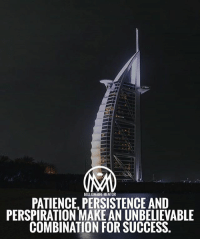 Memes, Patience, and Success: MILLIONAIRE MENTOR  PATIENCE, PERSISTENCE AND  PERSPIRATION MAKE AN UNBELIEVABLE  COMBINATION FOR SUCCESS. What else can we add to the perfect combination? 🤔comment below 👇 millionairementor patience persistence success