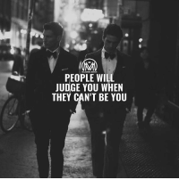 Food for thought.... millionairementor: MILLIONAIRE MENTOR  PEOPLE WILL  JUDGE YOU WHEN  THEY CAN'T BE YOU Food for thought.... millionairementor