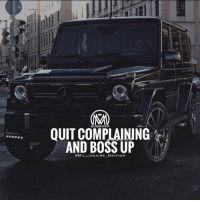 Many people complain about their current situation but they don't move a single finger to take action and change their life around. And you, are you gonna complain or work hard for a better tomorrow? Comment below👇👇🔥 bossup quitbitching boss success millionairementor: MILLIONAURE MINTOR  QUIT COMPLAINING  AND BOSS UP  OMILLIONAIRE MENTOR Many people complain about their current situation but they don't move a single finger to take action and change their life around. And you, are you gonna complain or work hard for a better tomorrow? Comment below👇👇🔥 bossup quitbitching boss success millionairementor
