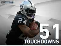 Memes, Nfl, and Mind: MIND-BOGGLING  STATS  AIDERS  AIDES  TOUCHDOWNS He didn't play in 2016, but @MoneyLynch still leads the NFL in rushing TDs since 2011.  Week 1 Mind-Boggling Stats: https://t.co/wEoYNiOEZ8 https://t.co/wcZk20DZM3