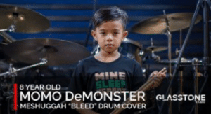 """Party, Old, and Mine: MINE  8 YEAR OLD  MOMO DEMONSTER GLASSTON  MESHUGGAH BLEED DRUM COVER Somebody Noticed That LMFAO's """"Party Rock"""" Has The Same BPM ..."""
