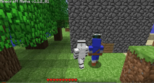 Pewds needs to invite his old friend to play Minecraft again!: Minecraft Alpha v1.1.2_01  Kebaz Pewds needs to invite his old friend to play Minecraft again!