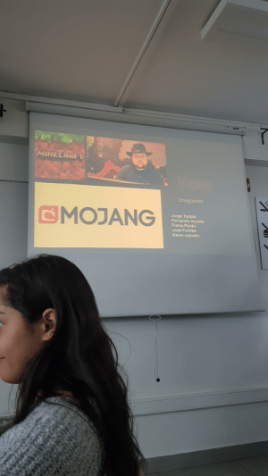 My classmates are going to talk about an incredible and interesting theme: MINECRAFT  Mojang  Integrantes:  CMOJANG  Jorge Tuppia  Fernando Acosta  Flavia Pardo  José Fortres  Kevin calcetin My classmates are going to talk about an incredible and interesting theme