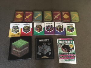 Not to flex buuut...: MINECRBFT  MINECRRFT  MINECRAFT  MINECRAFT  MINECRR  MINECRRFT  MINECRAFT  ESSERTINL R  WDSTOGE HADEO  WEDST  essRTINL  corSTFICTIOR co  COE Ec  COMENT NORU  MINECRAFT  MINECRAFT  MINECRAFT  MINECRAFT  MINELRHFT  MINECRAFT  QCE TO  ADE TO  GUIDE TO  HENCHANTMENTS &POTIONS  OTHE NETHER &THE END  GUIDE TO  GUDE TO  CREDSTONE  FARMING  EXPLORATION  GUIDE TO  CREATIVE  S  TABLE POSTERS!  THE BUILDER'S  MINECRAFT  E TO  MINECRAFT  MEDIEVAL FORTRESS  BLOCK  BUSTER  HOLIDAY UPDATL  EXPLORED  +  SN  MINECRAFT  CREA  TREETOP  SANCTARY  BLOCKOPEDIA  POCKE  THE END IS NIGH!  FLATORI  MJANG  BUILDS  CE PALA  SHOWCAS  CONSOLE  UPDATES Not to flex buuut...
