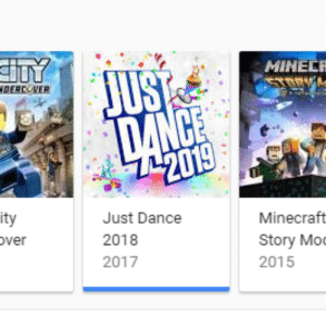 Minecraft, Dance, and MeIRL: MINELR  DER NER  Minecraft  Story Mo  2015  ity  Just Dance  2018  2017 meirl