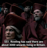 Memes, School, and Time: @ministry ofhogwaarts  551. Rowling has said there are  about 3000 wizards living in Britain. Back to school today for the last term of the year! This is going to be a strange term with loads of open days and my last dance show, I think it's going to go so fast! Qotd - Who is your all time favourite wizard? (doesn't have to be in the potterverse!) Carina Mae x Fc - 86.6k @maelovesbooks @carinapotter