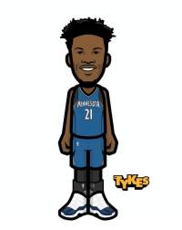 Jimmy Butler Minnesota Timberwolves Tyke. According to reports, the Timberwolves will acquire Jimmy Butler from the Bulls. Butler has been involved in trade rumors since the season ended and will be reunited with former Bulls coach Tom Thibodeau. The Wolves will trade the No. 7 pick to the Bulls along with Zach LaVine and Kris Dunn. The Wolves will receive the No. 16 pick in the 2017 NBA Draft. JimmyButler TWolves MyTyke: MINNESOTA  21 Jimmy Butler Minnesota Timberwolves Tyke. According to reports, the Timberwolves will acquire Jimmy Butler from the Bulls. Butler has been involved in trade rumors since the season ended and will be reunited with former Bulls coach Tom Thibodeau. The Wolves will trade the No. 7 pick to the Bulls along with Zach LaVine and Kris Dunn. The Wolves will receive the No. 16 pick in the 2017 NBA Draft. JimmyButler TWolves MyTyke
