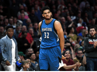 Karl-Anthony Towns, Minnesota, and Super: MINNESOTA  32  CAL Karl-Anthony Towns agrees to 5-year, $190M super-max extension with Timberwolves, per Adrian Wojnarowski