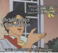 Middle Aged White Woman