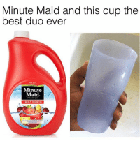 Facts, Friends, and Minute Maid: Minute Maid and this cup the  best duo ever  Minute  Maid.  PREMIUM  FRUIT PUNCH PURE FACTS 🍋 @funnyblack.s ➡️ TAG 5 FRIENDS ➡️ ‪@Tak_KingCole‬ (Credit-Twitter) ➡️ TURN ON POST NOTIFICATIONS