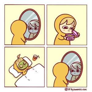 A miracle, they said [OC]: MIRACLE  MASK  O@ bysweetticket A miracle, they said [OC]