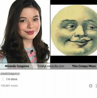 mooning: Miranda Cosgrove  TotallyLooksLike.com  This Creepy Moon  plasticbagvevo  i'm done  20,861 notes