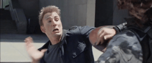 """America, Target, and Tumblr: mishasminions:  marvelobsessions:  Steve desperately trying to high five Bucky in Captain America: The Winter Soldier  """"YOU WILL BE MY FRIEND AGAIN DAMMIT"""""""