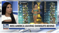 Abc, America, and Record: MISS AMERICA LEAVING SWIMSUITS BEHIND  EWS  The INGRAHAM ANGLE