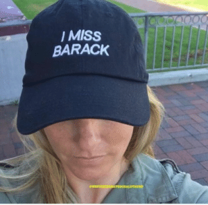 Memes, 🤖, and Hat: MISS  BARACK  @WEFUCKINGHATEDONALDTRUMP I NEED this hat! Buy it here: https://amzn.to/2HZrCTE