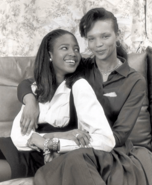 miss-t-pepper-pot:  A young Naomi Campbell with her Jamaican-born mother, Valerie.: miss-t-pepper-pot:  A young Naomi Campbell with her Jamaican-born mother, Valerie.