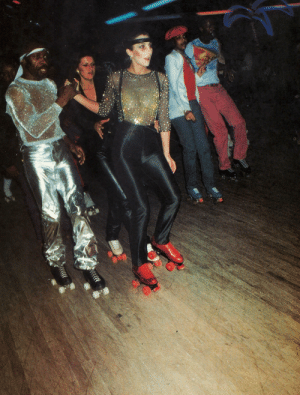 Cher, Tumblr, and Blog: missdandy:  Cher at the roller disco, 1978
