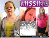 "Bodies , Cars, and Driving: MISSIN  SHEVY LYNN McGIFFIN, age 13, of Clarion  Township, PENNSYLVANIA, was last seen  leaving her home on Fraternity Drive to  walk to the store at 7:15 p.m. on  9/09/2016. She was last seen near the  Comet Food Warehouse and Dollar  General on S. 5th Ave. in Clarion. She is  4'8"" tall, has blonde hair in a ponytail  and a husky build. She was last seen  d wearing a pink under Armour hoodie,  Anyone with information on her loca  tion, please call the PA State Police at  814-226-1710 or dial 911 immediately!  missing cases @missingcases Sad News :( Authorities say the deceased body of a young girl was found Sunday at an unidentified location in Clarion County.  Clarion County Coroner Terry Shaffer confirmed that authorities located the body of a juvenile female on Sunday.  Shaffer was unable to confirm where the body was found citing an active investigation.  The body has not been identified as of Sunday at 6:15 p.m.  Pennsylvania State Police and the Clarion County Coroner's Office are investigating the case.  A representative with Clarion-based State Police declined to comment on the case.  A press release is expected to be released within the next 24 hours.  No further information is available at this time. http://www.exploreclarion.com/2016/09/11/breaking-news-body-of-young-girl-found-in-clarion-county/  #PA girl disappears on the way to the store #FindShevy Shevy Lynn McGiffin, age 13, of #Clarion Township, #Pennsylvania, was last seen leaving her home on Fraternity Drive to walk to the store at 7:15 p.m. on 9/09/2016. She was last seen near the Comet Food Warehouse and Dollar General on S. 5th Ave. in Clarion.   Unconfirmed reports state a witness may have seen her talking to an older man in a brown car, possibly a Buick.  She is 4'8"" tall, has blonde hair in a ponytail and a husky build. She was last seen wearing a pink Under Armour hoodie, pink shorts and black Nike sandals.   Anyone with information on her location, please call the PA State Police at 814-226-1710 or 911.  To assist with missing persons and wanted fugitive cases please join Locate The Missing on Facebook.  Clarion County Sheriff"