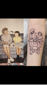 Best Friend, Best, and Tattoo: Missing my best friend lately. Got a tattoo of her favorite picture of the two of us.