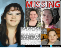 "Urgent! Still Missing! #FindLexi #SpecialNeeds #CedarRapids #Iowa girl with #Autism disappears: Alexis ""Lexi"" Stuckey, age 14, was last seen in the late afternoon of December 31, 2016 at the Coin Kleen laundromat on the corner of B Avenue and 16th Street NE in Cedar Rapids, #IA  Lexi is #autistic, has multiple mental disabilities and a slight speech impediment. She is 5'3"" tall, 178 lbs., has brown eyes and brown hair. She was last seen wearing a thin gray sweater, black spandex yoga pants with a little blue coloring, white Nike shoes and had a small purse with her.   Anyone with information on her location, please call 911 right away or contact the Cedar Rapids Police Department  #AlexisStuckey #OperationQuickfind  To continue assisting with missing & unidentified persons and wanted fugitive cases please follow Locate The Missing: MISSING  Special Needs CEDAR RAPIDS, IOWA girl  with AUTISM disappears: ALEXIS ""LEXI""  STUCKEY, age 14, was last seen in the late  afternoon of December 31, 2016 at the Coin  Kleen laundromat on the corner of BAvenue EE  and 16th Street NE. Lexi is autistic, has  D  multiple mental disabilities and a slight  speech impediment. She is 5'3"" tall, weighs  about 178 lbs., has brown eyes and brown  hair. She was last seen wearing a thin gray  sweater, black spandex yoga pants with a  little blue coloring, white Nike shoes and had  a small purse with her. Anyone having any  information on her location, please dial 911  right away or call the Cedar Rapids Police  Department at 319-286-5491.  #FINDLEX  missing cases  @missing cases Urgent! Still Missing! #FindLexi #SpecialNeeds #CedarRapids #Iowa girl with #Autism disappears: Alexis ""Lexi"" Stuckey, age 14, was last seen in the late afternoon of December 31, 2016 at the Coin Kleen laundromat on the corner of B Avenue and 16th Street NE in Cedar Rapids, #IA  Lexi is #autistic, has multiple mental disabilities and a slight speech impediment. She is 5'3"" tall, 178 lbs., has brown eyes and brown hair. She was last seen wearing a thin gray sweater, black spandex yoga pants with a little blue coloring, white Nike shoes and had a small purse with her.   Anyone with information on her location, please call 911 right away or contact the Cedar Rapids Police Department  #AlexisStuckey #OperationQuickfind  To continue assisting with missing & unidentified persons and wanted fugitive cases please follow Locate The Missing"