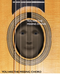 """<p>[<a href=""""https://www.reddit.com/r/surrealmemes/comments/8upj8n/culture_feels_like_a_prison/?utm_source=ifttt"""">Src</a>]</p>: MISSING  YOU ARE THE  MISSING CHORD <p>[<a href=""""https://www.reddit.com/r/surrealmemes/comments/8upj8n/culture_feels_like_a_prison/?utm_source=ifttt"""">Src</a>]</p>"""