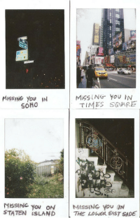 staten island: MISSING YoU IN  TIMES S@VARE  MISSING you ON  STATEN İSLAND