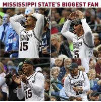Dak showed alllll the emotions during Mississippi State's historic win over UConn.: MISSISSIPPI STATE'S BIGGEST FAN  @CBSSports  ADI  TATE Dak showed alllll the emotions during Mississippi State's historic win over UConn.