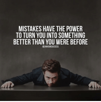 Mistakes are meant to guide you, not define you ⭐️ I have made a lot of them in my life. And I'm grateful 🙏 because thanks to them I am who I am today 🔝 . 📷 belongs to respective owner 👌: MISTAKES HAVE THE POWER  TO TURN YOU INTO SOMETHING  BETTER THAN YOU WERE BEFORE  @24HOURSUCCESS Mistakes are meant to guide you, not define you ⭐️ I have made a lot of them in my life. And I'm grateful 🙏 because thanks to them I am who I am today 🔝 . 📷 belongs to respective owner 👌