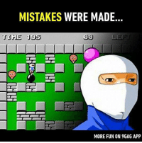 It wasn't an accident. Follow @9gag to laugh more. 9gag stupidity gaming Bomberman: MISTAKES WERE MADE  20  MORE FUN ON 9GAG APP It wasn't an accident. Follow @9gag to laugh more. 9gag stupidity gaming Bomberman