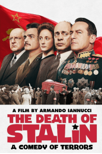 "shittymoviedetails:The title ""The Death Of Stain"" indicates Stalin, leader of the Soviet Union has perished.: MIU  A FILM BY ARMANDO IANNUCCI  THE DEATH OF  STALİN  A COMEDV OF TERRORS shittymoviedetails:The title ""The Death Of Stain"" indicates Stalin, leader of the Soviet Union has perished."