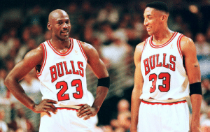 MJ was 1-9 in the playoffs before Scottie Pippen joined him https://t.co/Y5wY5UcMGR: MJ was 1-9 in the playoffs before Scottie Pippen joined him https://t.co/Y5wY5UcMGR