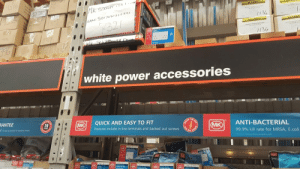 failnation:  DIY store needs to check their privilege…http://failnation.tumblr.com: MK  EAN: 501410S2732I  321  1134  vik SaK A  white power accessories  RANTEE  QUICK AND EASY TO FIT  O FIT  ASY  MK  203  doop guarante for electronic temu  ANTI-BACTERIAL  Features include in-line terminals and backed out screws  MK  ০৮  99.9% kill rate for MRSA, E.coli  MKOI  LATOR  wwww. failnation:  DIY store needs to check their privilege…http://failnation.tumblr.com