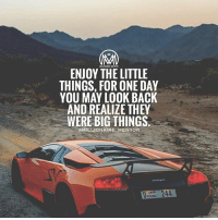 Journey, Life, and Memes: MLLIONAIRE MENTOR  ENJOY THE LITTLE  THINGS, FOR ONE DAY  YOU MAY LOOK BACK  AND REALIZE THEY  WERE BIG THINGS.  eMILLIONAIRE MENTOR  D 244 We sometimes underestimate the influence of little things but it's the little things that make life BIG.💯 life littlethings lessons journey enjoy millionairementor