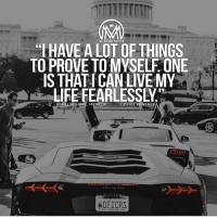 Life, Memes, and Free: MLLIONAIRE MENTOR  HAVE A LOT OF THINGS  TO PROVE TOMYSELF ONE  IS THAT FCAN LIVE MY  MILLIONAIRE MENTOR  WOFICRS Life can pass you by or be your biggest joy. Live your life fearlessly, live free! millionairementor