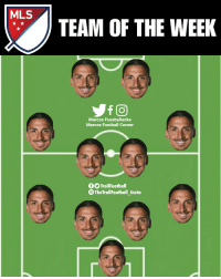 Football, Memes, and Major League: MLS  TEAM OF THE WEEK  Marcos Fussballecke  Marcos Football Corner  fOTrollFootball  The TrollFootball_Insta MLZ - Major League Zlatan https://t.co/2NhzRLbg1S