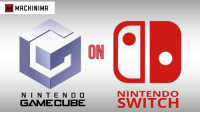 Memes, Nintendo, and 🤖: MMACHINIMA  ON  NINTENDO  N I N T E N D O  GAMECUBE  SWITCH Get ready to play Gamecube games on Nintendo's new console