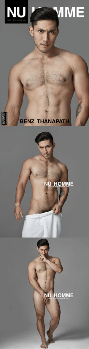 mme: MME  NU  ISSUE 1 NO.11 MARCH 2016  BENZ THANAPATH  NU HOMME HB 120  ISSN 2408-2228  www.nuhommebook.com   NU HOMME  www.nuhommebook.com   NU HOMME  www.nuhommebook.com