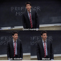 Memes, Good Morning, and Good: MMO  Good morning.  howimetyo  ertherane age  Insta gram  Sup, dudes  Silencel {5x1} Happy first of April🎉😂 -- Scene requested by @arber.roka himym howimetyourmother sitcom tedmosby joshradnor