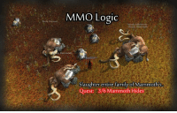 Family, Logic, and Memes: MMO Logic  mmotht  Mammoth  ly Mammoth  Slaughter entire family of  Mammoths  Quest 3/6 Mammoth Hides hahaha This annoys the crap out of me oO ~ Ysabell