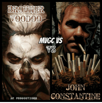 Whos taking this battle ... Marvel's  Brother Voodoo  Vs DC John Constantine Location Habana Cuba Winner by any means Now go..: MNGC US  JOHN  AP PRODUCTIONS  CONSTANTINE Whos taking this battle ... Marvel's  Brother Voodoo  Vs DC John Constantine Location Habana Cuba Winner by any means Now go..