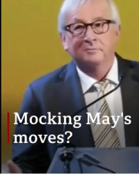 Check out the wiggle. Was Jean-Claude Juncker mocking Theresa May's dancing? The European Commission has denied it. But more importantly, who's got the best dance moves? theresamay dancingqueen dance dancing bbcnews: Mocking May's  moves? Check out the wiggle. Was Jean-Claude Juncker mocking Theresa May's dancing? The European Commission has denied it. But more importantly, who's got the best dance moves? theresamay dancingqueen dance dancing bbcnews
