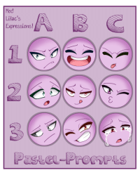 Love, Target, and Tumblr: Mod  Lilac's  Expressions! pastel-prompts:  Expressions Prompts! Feel free to use, but please do not repost!Please @pastel-prompts if you use, we'd love to see what you do with these!